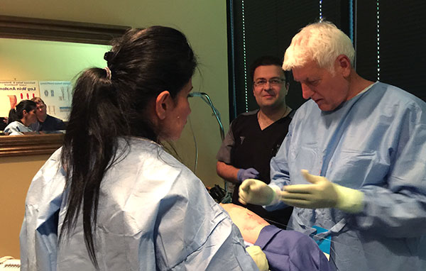 Vein Training with Dr. Bush